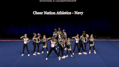 Cheer Nation Athletics - Navy [2021 L1 Junior - Small Semis] 2021 The D2 Summit