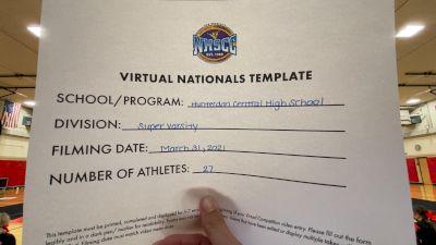 Hunterdon Central High School [Virtual Super Varsity Semi Finals] 2021 UCA National High School Cheerleading Championship