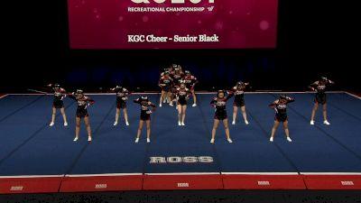KGC Cheer - Senior Black [2021 L3.1 Performance Rec - 18Y (NON) - Large Finals] 2021 The Quest