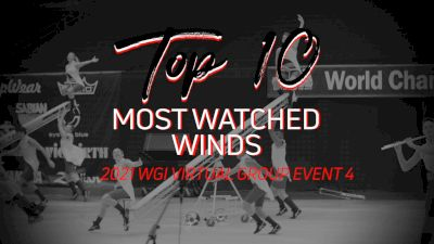 TOP 10: Most Watched Winds WGI Group Week 4
