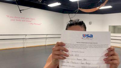 Thousand Oaks High School [Open - Solo Prelims] USA Spirit & Dance Virtual National Championships