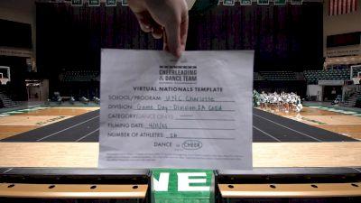 UNC Charlotte [Virtual Division IA Coed Game Day Semi Finals] 2021 UCA & UDA College Cheerleading & Dance Team National Championship