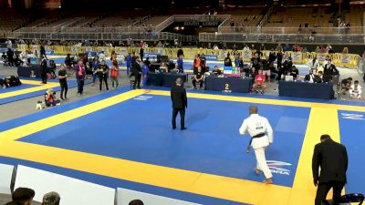 Johnatha Alves vs Lucas Valente, Lightweight Final, 2021 IBJJF Pan Championship