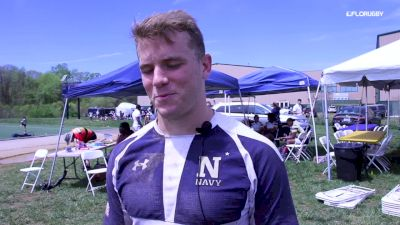 Cole Euverard Reflects On Navy Loss