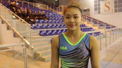 Interview - Sunisa Lee (USA) - Training Day 3, 2019 City of Jesolo Trophy