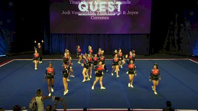 Titan Cheer Alliance - Legends [2020 L4 Performance Rec - Non-Affiliated (8-14 Years)] 2020 The Quest