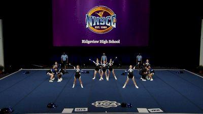 Ridgeview High School [2021 Junior Varsity Non Tumbling Semis] 2021 UCA National High School Cheerleading Championship