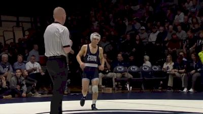 125 Zeke Moisey, Nebraska vs Devin Schnupp, Penn State