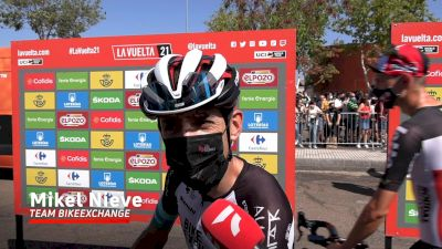 Mikel Nieve: 'It's Difficult To Predict What Will Happen' Stage 14 - 2021 Vuelta A España