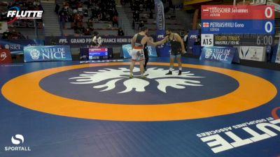 125 kg: Geno Petriashvili, Georgia vs Johannes Ludescher, Austria
