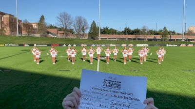 University of Nebraska Omaha [Virtual Division I Game Day - Dance Semi Finals] 2021 UCA & UDA College Cheerleading & Dance Team National Championship