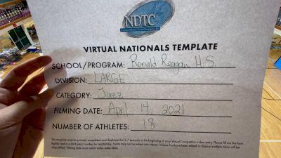 Ronald Reagan High School [Virtual Large Varsity - Jazz Finals] 2021 UDA National Dance Team Championship