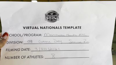 Manchester AYC [Virtual Recreational Affiliated Game Day Semi Finals] 2021 UCA National High School Cheerleading Championship