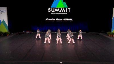 Adrenaline Allstars - AURORA [2021 Junior Hip Hop - Small Finals] 2021 The Dance Summit