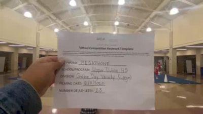 Upper Dublin High School [Game Day Varsity] 2020 UCA Pocono Virtual Regional