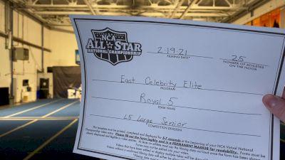 East Celebrity Elite - Royal 5 [L5 Senior - Large] 2021 NCA All-Star Virtual National Championship
