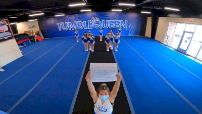 Tumble Queen - Majesty [L2 Junior - Small - A] 2021 Varsity All Star Winter Virtual Competition Series: Event IV