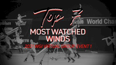 Top 7: Most Watched Winds - WGI Virtual Group Event 1