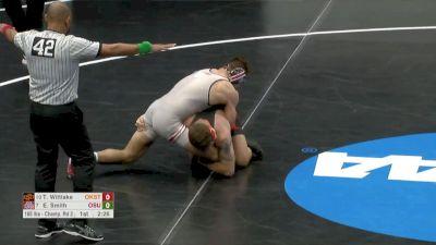 165 R16, Travis Wittlake, Oklahoma State vs Ethan Smith, Ohio State