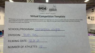 Southampton Knights [Traditional Open Rec Affiliated 10U] 2021 UCA February Virtual Challenge