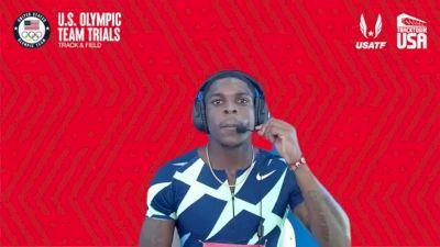 Marvin Bracy-Williams - Men's 100m First Round