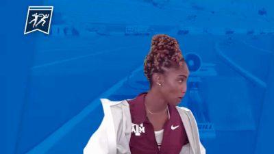 Texas A&M's Tyra Gittens - Heptathlon Champion