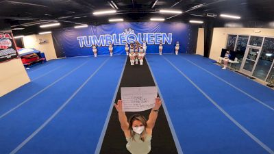 Tumble Queen - Snap 6 [L6 Senior Coed Open - Small] 2021 Varsity All Star Winter Virtual Competition Series: Event V