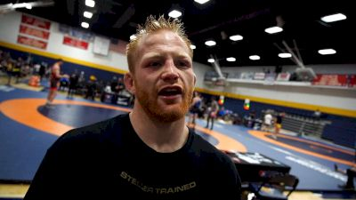 Cary Kolat Has Chance Marsteller Walking The Line To The Olympic Team Trials