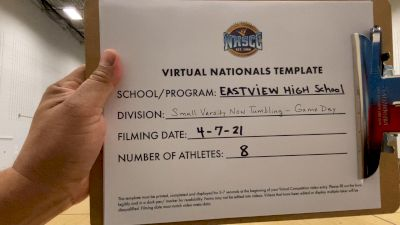 Eastview High School [Virtual Small Varsity Non Tumbling Game Day Semi Finals] 2021 UCA National High School Cheerleading Championship