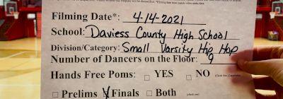 Daviess County High School [Virtual Small Varsity - Hip Hop Finals] 2021 NDA National Championship