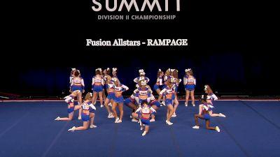 Fusion Allstars - RAMPAGE [2021 L4.2 Senior - Medium Finals] 2021 The D2 Summit