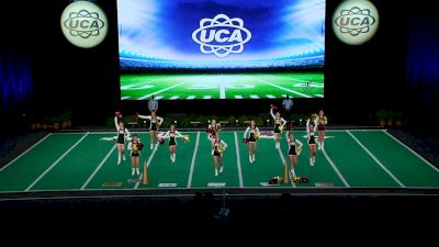 St Augustine High School [2021 Small Junior Varsity Game Day Finals] 2021 UCA National High School Cheerleading Championship