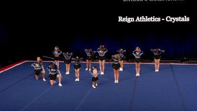 Reign Athletics - Crystals [2021 L1 Junior - Small Semis] 2021 The D2 Summit