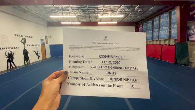 Colorado Lightning Athletics - Unity [Junior - Hip Hop] Varsity All Star Virtual Competition Series: Event IV