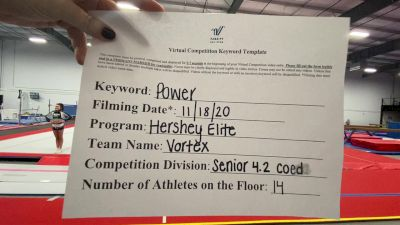 Hershey Elite - Vortex [L4.2 Senior Coed] Varsity All Star Virtual Competition Series: Event V