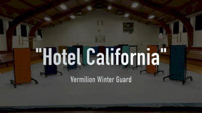 """Vermilion Winter Guard - """"Hotel California"""""""