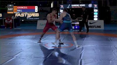 87KG,QF Josef Patrick RAU, USA vs David LOSONCZI, HUN