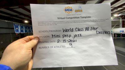 World Class All Star Dance [Mini - Prep - Jazz] 2021 UDA Spirit of the Midwest Virtual Challenge