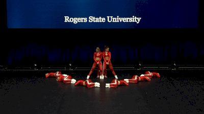 Rogers State University [2021 Open Hip Hop Finals] 2021 UCA & UDA College Cheerleading & Dance Team National Championship