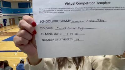 Thompsons Station Middle School [Game Day Junior High] 2021 UCA January Virtual Challenge