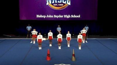 Bishop John Snyder High School [2021 Small Coed Non Tumbling Finals] 2021 UCA National High School Cheerleading Championship
