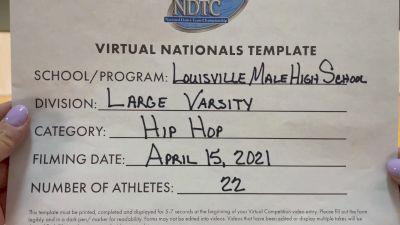 Louisville Male High School [Large Varsity - Hip Hop Virtual Finals] 2021 UDA National Dance Team Championship