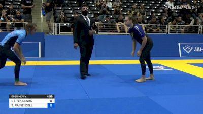 ISABELLA ERYN CLARK vs SKYLAR RAINE IDELL 2021 World IBJJF Jiu-Jitsu No-Gi Championship