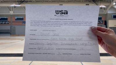 Clovis North High School [Varsity - Song/Pom - Intermediate] USA Spirit & Dance Virtual National Championships