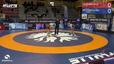 68 kg - Forrest Molinari, USA vs Luz Vazquez, Argentina