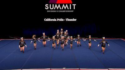 California Pride - Thunder [2021 L1 Junior - Small Finals] 2021 The D2 Summit