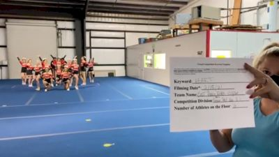 East Pasco Rebels - Eclipse [L3.1 Performance Recreation - 18 and Younger (NON)] 2021Varsity Recreational Virtual Challenge III
