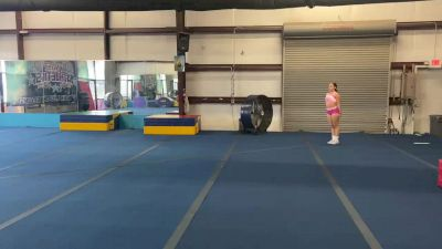 Miranda Estevis - Running Tumbling [Level 4 - Week 1] 2020 Varsity TV Level Legacy Challenge