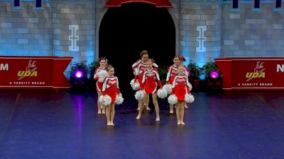 World Class All Star Dance - Dazzlers [2021 Mini - Pom Semis] 2021 UDA National Dance Team Championship