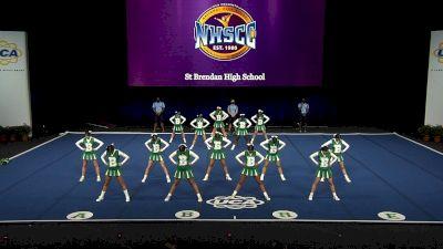 St Brendan High School [2021 Small Junior Varsity Finals] 2021 UCA National High School Cheerleading Championship